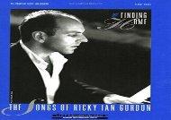 Finding Home Songs Of Ricky Ian Gordon