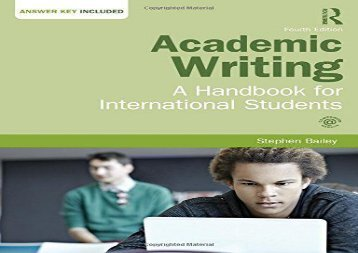 writing academic book