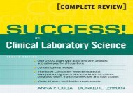 SUCCESS! in Clinical Laboratory Science (4th Edition)
