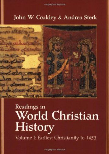 Vol 1 Readings World Christian Hist