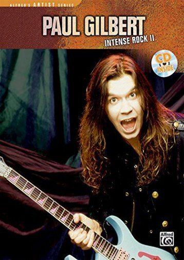Paul Gilbert -- Intense Rock II: Book   CD (Cpp Media Group Video Transcription)
