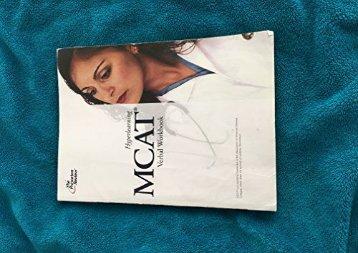 The Princeton Review Hyperlearning MCAT Verbal Workbook (MCAT)