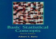 Basic Statistical Concepts (Essentials of Elementary Teaching)