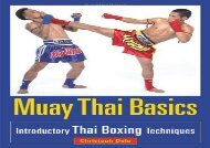 Muay Thai Basics: Introductory Thai Boxing Techniques