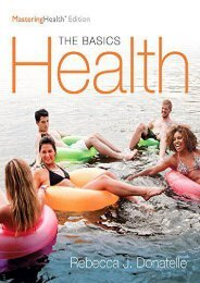 Health: The Basics, the MasteringHealth