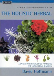 Complete Illustrated Guide – Holistic Herbal: A safe and practical guide to making and using herbal remedies