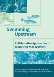 Swimming Upstream: Collaborative Approaches to Watershed Management (American and Comparative Environmental Policy)