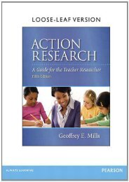 Action Research: A Guide for the Teacher Researcher, Loose-Leaf Version