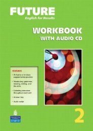 Future 2 Workbook with Audio CDs: 2 (Future English for Results)