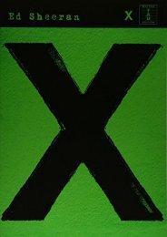 Ed Sheeran: X (TAB) (Guitar Tab)