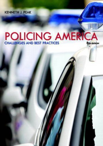 Policing America: Challenges and Best Practices