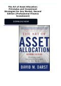 The Art of Asset Allocation: Principles and Investment Strategies for Any Market, Second Edition (Professional Finance   Investment) - Page 2