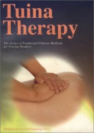 Tuina Therapy (Series of Traditional Chinese Medicine for Foreign Readers)