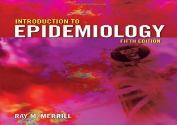 By Ray M. Merrill: Introduction to Epidemiology, Fifth Edition Fifth (5th) Edition