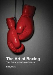 The Art of Boxing: Your Guide to the Sweet Science
