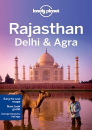 Lonely Planet Rajasthan, Delhi   Agra (Travel Guide)