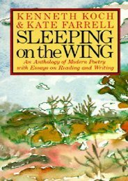 Sleeping on the Wing: An Anthology of Modern Poetry, with Essays on Reading and Writing (Vintage)