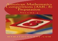American Mathematics Competitions (AMC 8) Preparation (Volume 4)