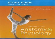 Study Guide for Fundamentals of Anatomy   Physiology