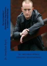 The Encyclopedia of Hypnotherapy, Stage Hypnosis   Complete Mind Therapy