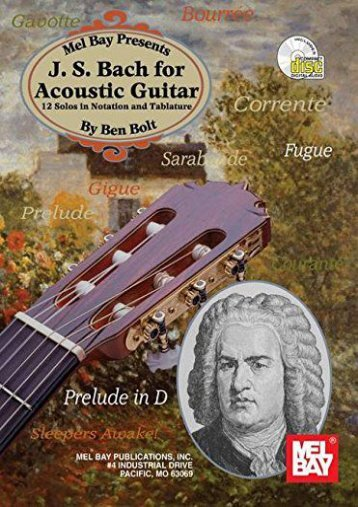 J.S. Bach for Acoustic Guitar (Acoustic Guitar Series)