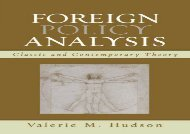 Foreign Policy Analysis: Classic and Contemporary Theory