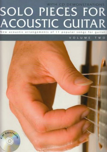 Solo Pieces For Acoustic Guitar Volume Two (Book   Cd) Gtr Book/Cd