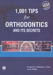 1,001 Tips for Orthodontics and its Secrets