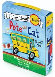 Pete The Cat Phonics Box: Includes 12 Mini-Books Featuring Short and Long Vowel Sounds (I Can Read)
