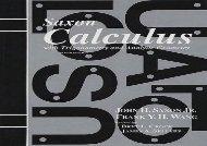 Saxon Calculus Homeschool Kit 2nd Edition