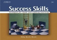 Success Skills: Strategies for Study and Lifelong Learning
