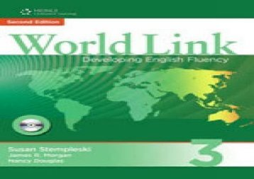 World Link 3: Combo Split A with Student CD-ROM