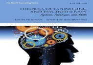 Theories of Counseling and Psychotherapy: Systems, Strategies, and Skills (Merrill Counseling (Hardcover))