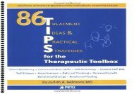 86 Tips for the Therapeutic Toolbox: Treatment Ideas   Practical Strategies