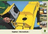 Capteur « HarvestLab »