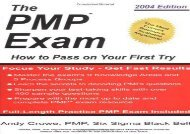 PMP Exam How to Pass on Your 1st Try