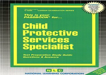 Child Protective Services Specialist