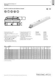 PCA ECO 18-;58 W 220-;240 V 50/60/0 Hz, dimmable