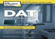 Cracking the DAT (Graduate School Test Preparation)
