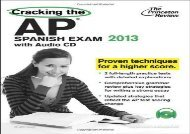Cracking the AP Spanish Exam [With CD (Audio)] (Princeton Review: Cracking the AP Spanish)