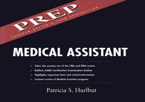 Medical Assistant: Program Review and Exam Preparation: Program Review and Exam Preparation (PREP) (Appleton   Lange Quick Review)