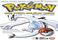 Pokemon Gold and Silver Official Strategy Guide (Bradygames Strategy Guides)