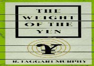 The Weight of the Yen