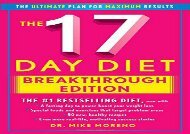 The New 17 Day Diet Breakthrough: The Ultimate Plan for Maximum Results
