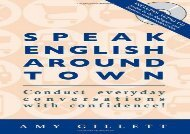Speak English Around Town (Book   Audio CD set)