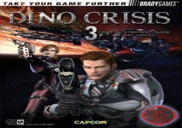 Dino Crisis 3: Offical Strategy Guide (Official Strategy Guides)