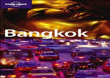 Bangkok (Lonely Planet City Guides)
