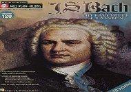 Jazz Play-Along Volume 120 J S Bach Book/Cd (Hal Leonard Jazz Play-Along)