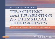 Handbook of Teaching and Learning for Physical Therapists, 3e