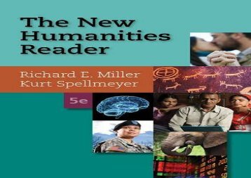 The New Humanities Reader
